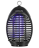 COMLIFE Electric Bug Zapper Lamp - 360°UV Mosquito Killer, Fly Insects Zapper Catcher, Chemical-Free Zapper, For Home, Office, Patio, Kitchen