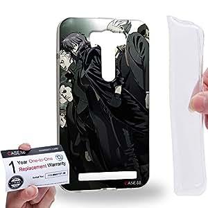 Case88 [Asus Zenfone 2 Laser ZE500KL] Gel TPU Carcasa/Funda & Tarjeta de garantía - Ghost in the Shell: Stand Alone Complex Public Security Section 9 3136