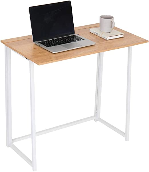 Happy Home - Mesa de Oficina Plegable (80 x 45 x 75 cm): Amazon.es ...