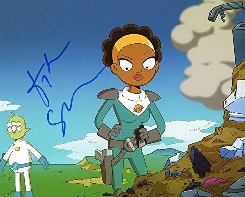 "Tika Sumpter""Final Space"" AUTOGRAPH Signed 8x10 Photo"