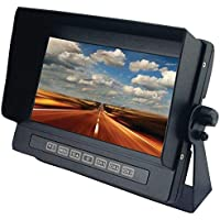 CRIMESTOPPER SV-8700 7inin Universal Digital Color LCD Monitor