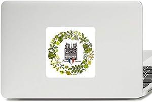 Notre Dame Cathedral Paris France Decal Vinyl Paster Laptop Sticker PC Decoration