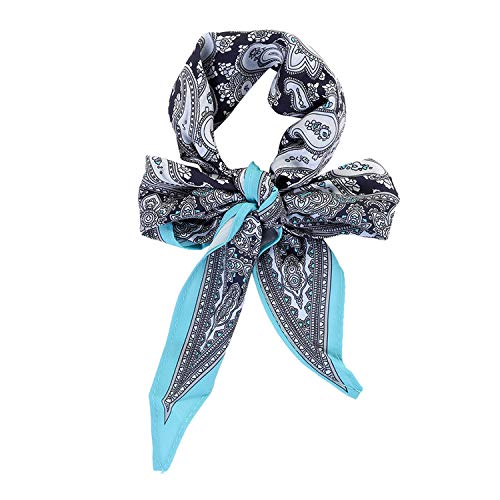 - Spring Women Scarf Ponytail Hair Rope Flower/Plaid Print Hair Bow Scrunchies Leopard Headbands