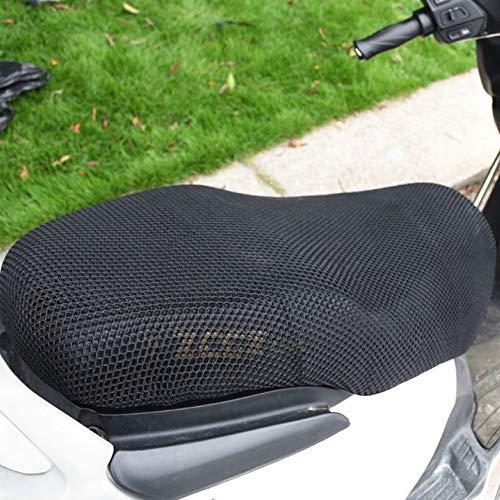 shuaishuang573 Protector Solar Cubierta de Asiento de la Motocicleta peque/ños Agujeros prevenir Toma el Sol Vespa el/ástico Cubierta
