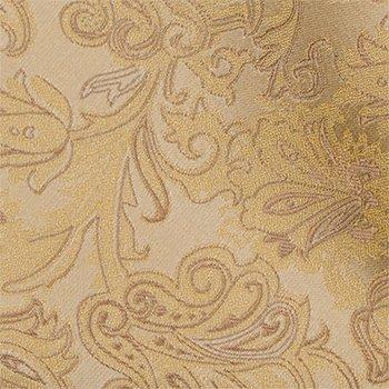 Self tie bow tie - Desertlike golden floral pattern, tone in tone Notch