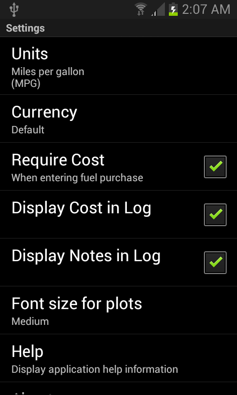 amazon com fillup gas mileage log appstore for android