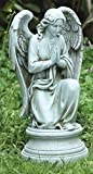 Roman 17.75″ Joseph's Studio Inspirational Praying Religious Angel Garden Statue