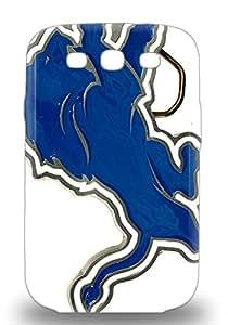 Scratch Free Phone 3D PC Case For Galaxy S3 Retail Packaging NFL Detroit Lions Logo ( Custom Picture iPhone 6, iPhone 6 PLUS, iPhone 5, iPhone 5S, iPhone 5C, iPhone 4, iPhone 4S,Galaxy S6,Galaxy S5,Galaxy S4,Galaxy S3,Note 3,iPad Mini-Mini 2,iPad Air )