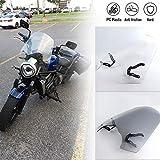 FATExpress Motorcycle Windshield Windscreen Wind