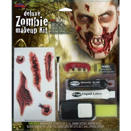 Generic Zombie Deluxe Kit Halloween Makeup Pack of - To How Eye Test An Fake