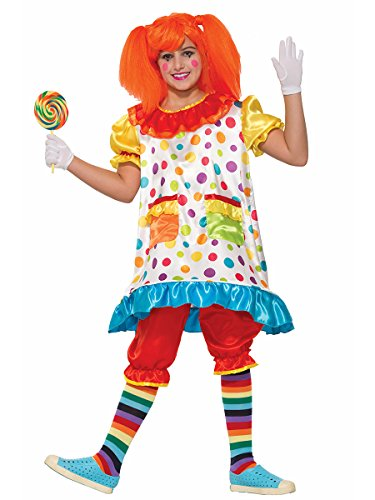Forum Novelties Kids Wiggles The Clown Costume, Multicolor, Small - Kids Multi Color Clown Wig
