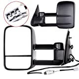 ECCPP Towing mirrors For 1997 1998 1999 Ford F150 F250 Standard Extended Cab (Not for 4 Doors Crew Cab Models) Power Adjusted Mirrors