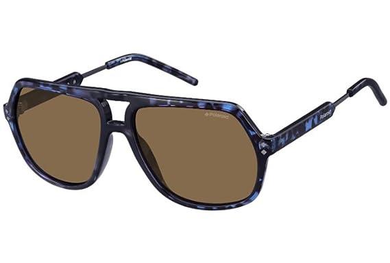 Polaroid Herren Sonnenbrille Pld 2035/S IG Tqj, Blau (Bluette Dkruth/Brown Pz), 58