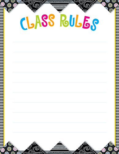 Creative Teaching Press BW Collection Class Rules Poster Chart (1006)