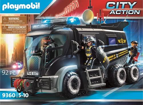 PLAYMOBIL 전술 단위 트럭