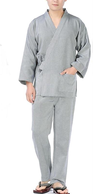 Traje de Pijama de Kimono Texturizado con Textura de Vestido ...