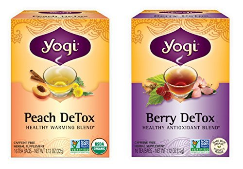 Yogi Tea Detox Two Pack - Peach and Berry ...