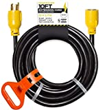 30 Amp Generator Cord - L14-30 10 Ft Generator Power Cable with Organizer 10/4 SJTW, 125/250v, 7500 Watt