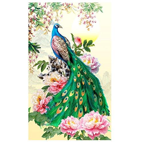 Awakingdemi DIY Diamond Embroidery Painting Peacock Home Dec