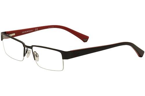 a863aa04ae8c Emporio Armani EA1006 Eyeglasses-3014 Black-53mm  Amazon.ca  Jewelry