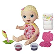 Amazon #LightningDeal 98% claimed: Save 20% on BABY ALIVE Snackin Lily Blonde
