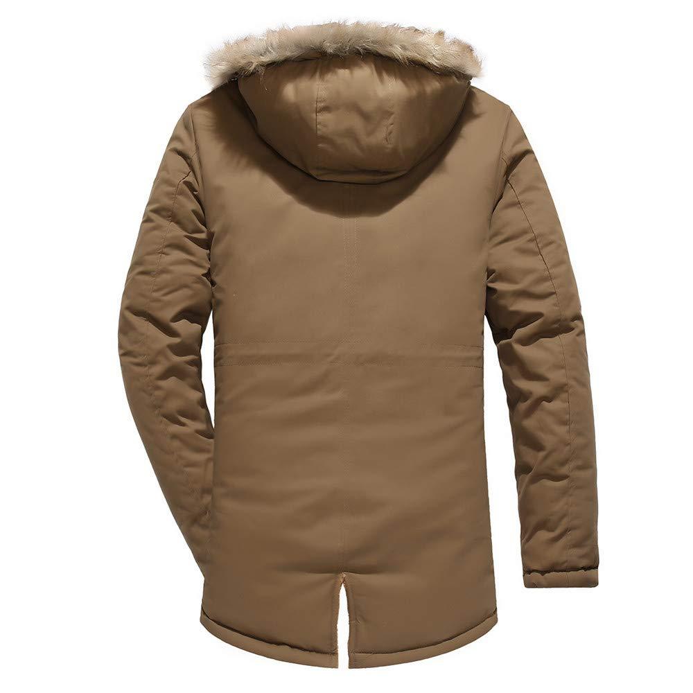 ZODOF Chaqueta Slim para Hombre Hombres Blusa de Camuflaje de Invierno Engrosamiento de la Capa Superior Blusa más el tamaño L-3XL: Amazon.es: Ropa y ...