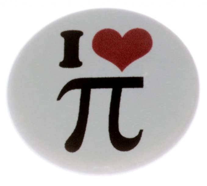 Amazon At Designs Unisex I Love Pi Math Symbol Sign 125