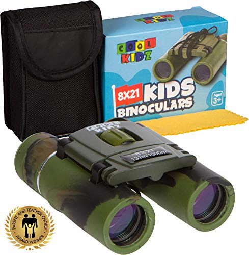 Binoculars for Kids 8×21 by Coolkidz – Compact Binoculars Set for Boys and Girls with High Resolution Coated Lens – Perfect for Bird Watching, Safari, Travel, Hiking, Hunting, Concerts For Sale