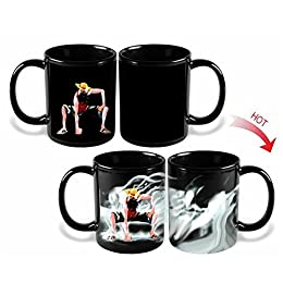 Includes Mug, Notebook, and Keychain ONE PIECE Monkey D Luffy 3 Piece Gift Set