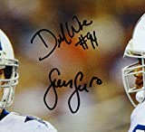 Sean Lee DeMarcus Ware Autographed 20x24 On Field Canvas- JSA W Authenticated