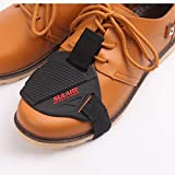 SendowTek Protector de Botas de Motos, Protector de Zapato de Moto Cubre, Accesorios de Cambio de Marchas para Zapatos Protector de Botas de Motos
