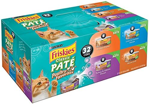Purina Friskies. Classic Pate Poultry Favorites Cat Food Variety Pack Variety Pack 1