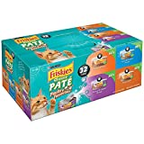 Purina Friskies Wet Cat Food, Classic Pate Poultry Favorites Variety Pack, 5.5 oz Cans (32 cans - Pack of 5)