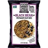 Food Should Taste Good, Tortilla Chips, Multigrain Bean Chips, Black Bean, 5.5 oz (Pack of 12)