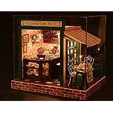ドールハウス ミニチュア handmade キット セット The スター coffee bar