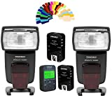 Yongnuo YN568EX TTL Wireless Flash Speedlite 2pcs+YN622N kit Flash Trigger +Controller for Nikon DSLR Cameras