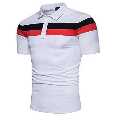 Polo De Los Hombres Camisa De Polo De Ropa Golf De Manga Corta De ...