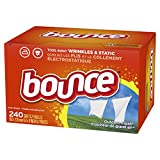 Bounce Fabric Softener and Dryer Sheets, Outdoor