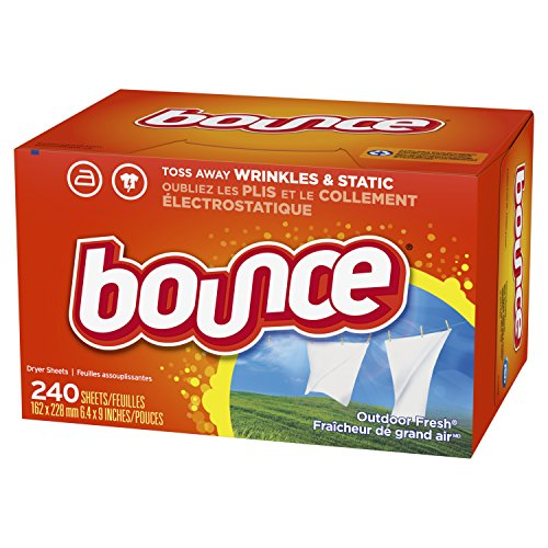 Bounce Fabric Softener and Dryer Sheets, Outdoor Fresh, 240 Count by Bounce (Image #7)