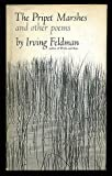 The Pripit Marshes and Other Poems, Irving Feldman, 0670577731