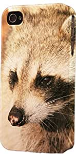 Raccoon Dimensional Case Fits iPhone 5 or iPhone 5s by icecream design