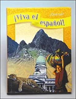 Amazon hola viva el espaol english and spanish edition qu tal student textbook viva el fandeluxe Gallery