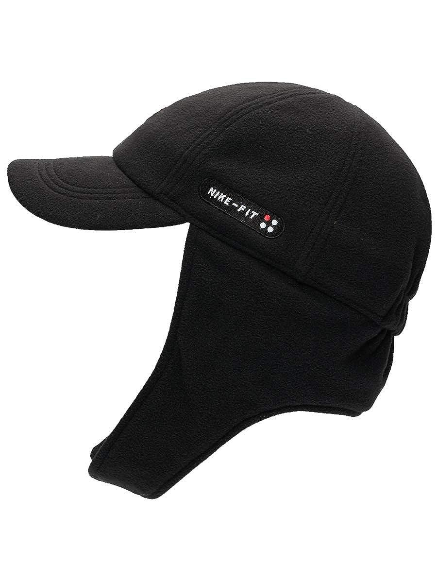 a459901a Amazon.com: Nike X Skepta SK Air H86 Fleece QS Earflap Hat Black AO8234 010  New: Clothing