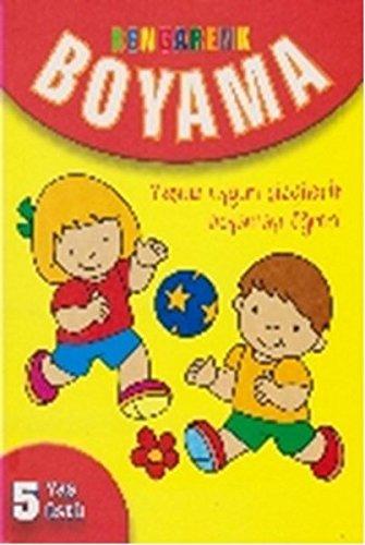 Rengarenk Boyama 5 Yas Ustu Kolektif 9786051008660 Amazoncom