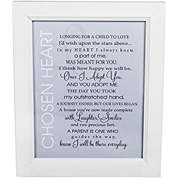 Amazon Com 5x7 Adoption Poem Double Hinged Black Picture
