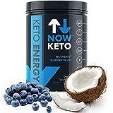 NowKeto™ KetoENERGY Ketones w/MCT Powder -Medium Chain Triglyceride- & BHB Ketones -Beta Hydroxybutrate Salts - Keto Diet Friendly - Elevate Ketones & Increase Ketosis, for Ketogenic Diet
