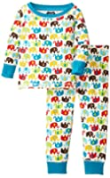 Mud Pie Baby Boys' Elephant Pajama
