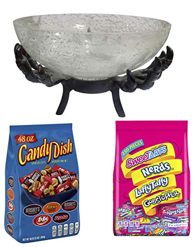 Halloween Party Candy and Halloween Candy Dish |