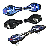 Toy Cubby Cruiser Kids Caster Ripstik Boards (Blue)
