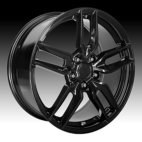 Corvette Black Wheel - OE Creations 160 C7 Corvette Replica 19x10 5x4.75
